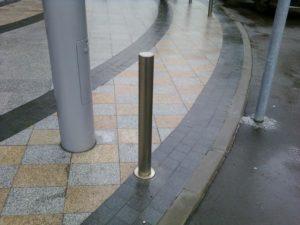 стационарные парковочные столбики