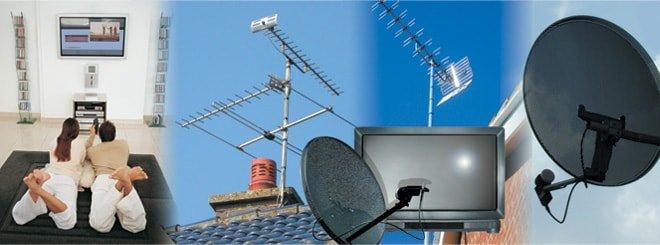установка цифровой антенны