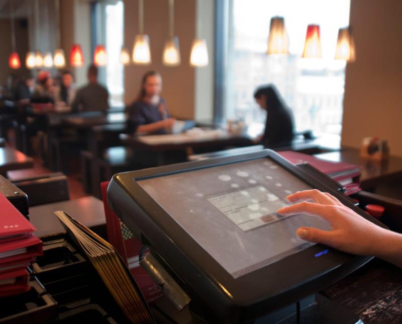 камеры видеонаблюдени в кафе (ресторане)