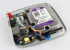 жесткий диск внутри видеорегистратора