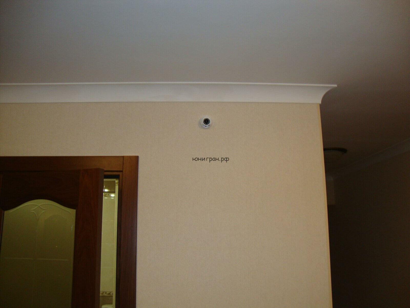 камера наблюдения в квартире