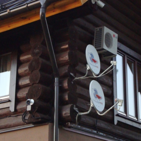 установка спутниковой антенны триколор