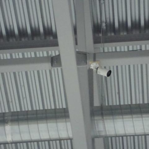 видеокамера на ледовой арене