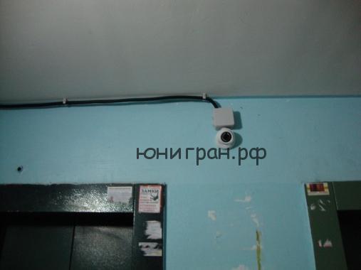 камера наблюдения для подьезда