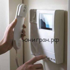 Установка домофона и контроля доступа
