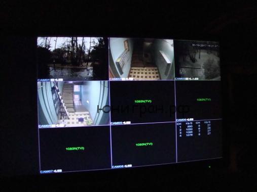 видеонаблюдение в подьезде