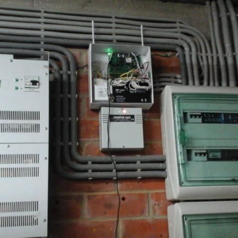 электромонтажные работы и сигнализация в гараж