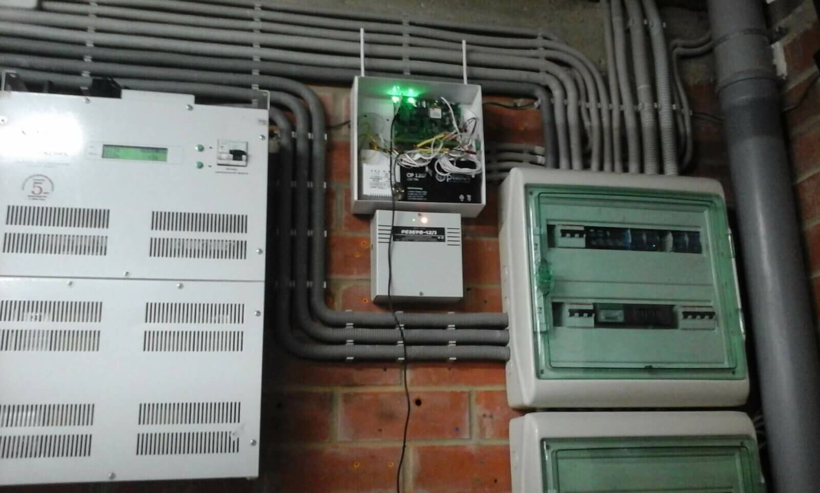 охранная сигнализация в гараж установить
