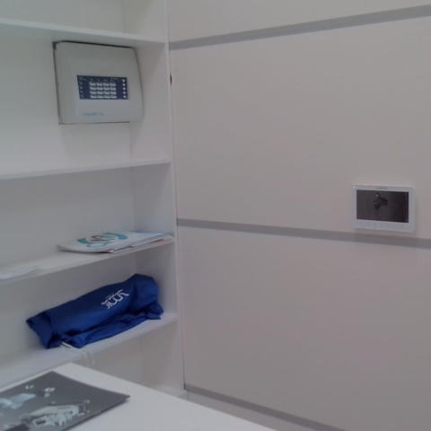 видеодомофон в клинике Пушкино