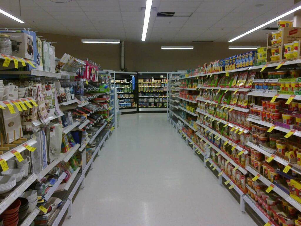видеонаблюдение в минимаркете